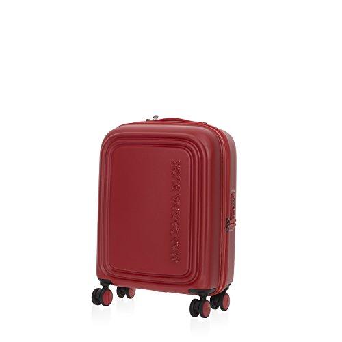 Mandarina Duck Logoduck+ Cabin Trolley Flame Scarlet Bagaglio a Mano Rosso SZV5413C