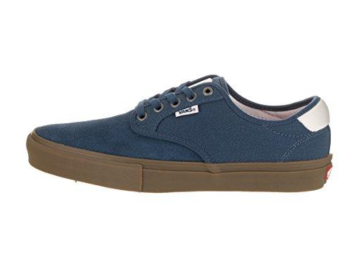 Herren Skateschuh Vans Chima Ferguson Pro Skateschuhe Covert Twill Blue/gum