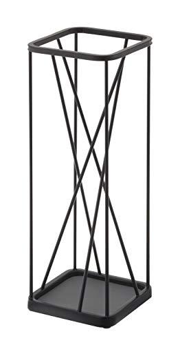 YAMAZAKI Schirmständer 9 Square, schwarz
