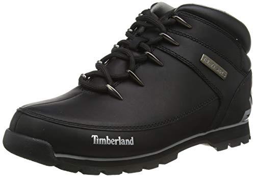Timberland Euro Sprint Hiker, Bottes Chukka Homme, Noir (Black Full Grain), 44 EU