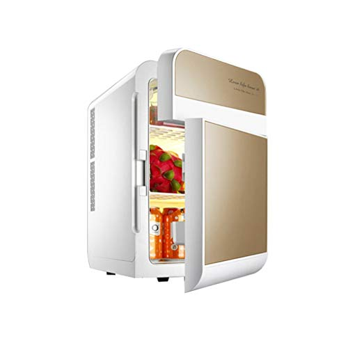 WYJW Auto refrig12V DC 220V AC Kühlung Autokühlschrank Mini-Kühlschrank Kleinstkühlschrank für Privathaushalte Auto-Kühlschrank mit doppeltem Verwendungszweck (Farbe: A)