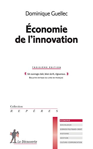 Économie de l'innovation par Dominique GUELLEC