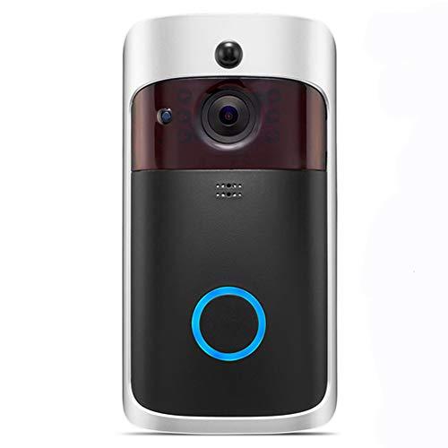 Video Campanello, UKXHY Wireless WIFI Videocitofono 720p HD...