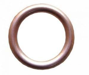 10mm Copper Compression Washer 10 Pack 10 x 14 x 1.5 Crush Sump