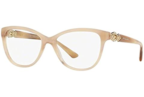 Bvlgari Eyeglasses BV4132B 5413 Blonde Horn 55-16-140