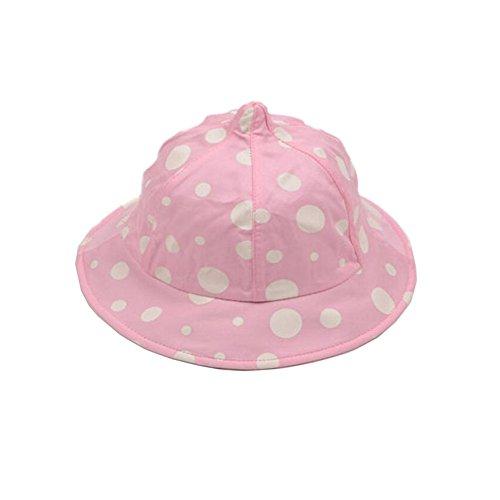 Weiche Baby-Sonnenschutz -Hut Infant Floppy Cap Cotton Sonnenhut 1-3 Jahre alt