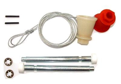 Garage Door Repair Kit Includes Cones and Cables/Star Washers Type Roller Spindles To Suit Cardale CD45 Canopy by Cardale (Garage Canopy Door)