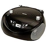 Daewoo M279135 - Radio cd mp3 con usb portatil dbu-37 negro