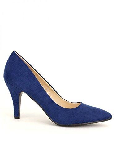 Cendriyon, Escarpin Color Blue LAUREA Chaussures Femme Bleu