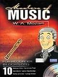 MASTERS OF MUSIC - arrangiert für Blockflöte - mit CD [Noten/Sheetmusic] Komponist : MOZART WOLFGANG AMADEUS