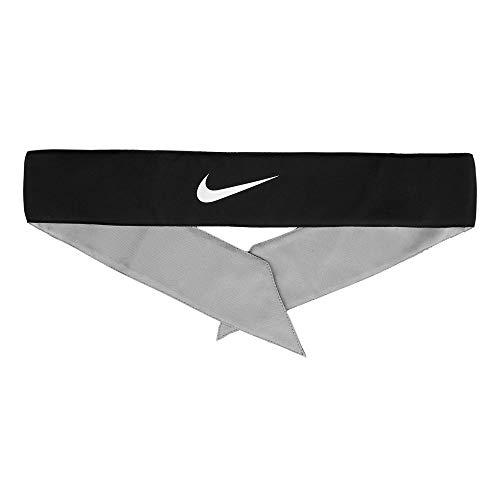 Nike 9320/8 - Diadema Unisex para Hombre, Hombre, Color 010 Black/White, tamaño Talla única