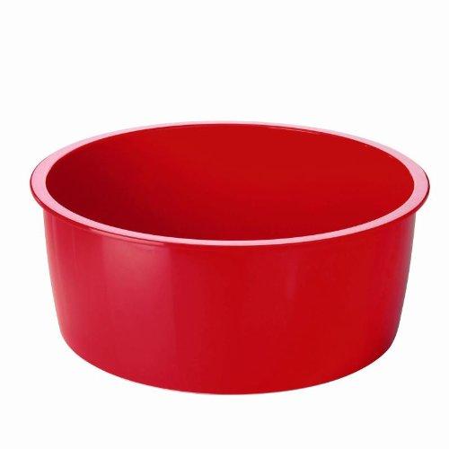 KUHN RIKON 30756 Kochgeschirr Zubehör Melamin Hotpan Schüssel rot 2.0L (Melamin Schüssel Rot)