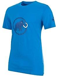 Mammut Logo Camiseta de Senderismo, Hombre, Azul (Imperial), XL