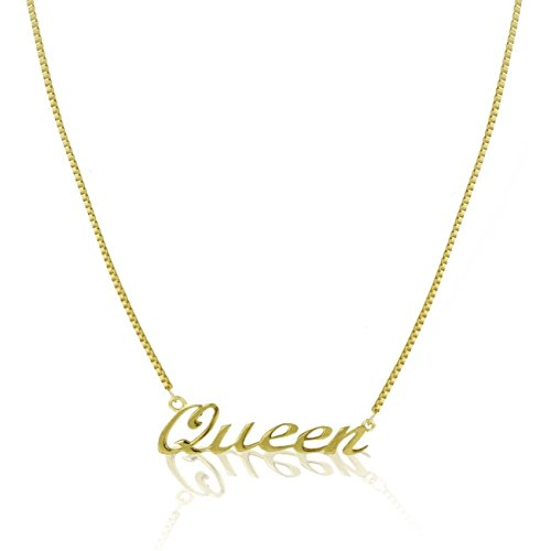 Crunchy Fashion Jewellery Party Wear Queen Pendant with Chain Necklace For Girls/ Women