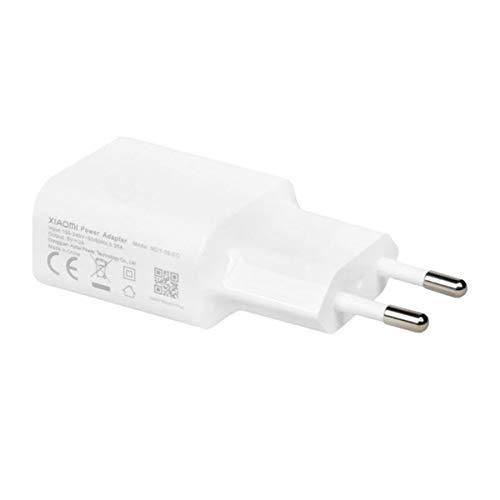 Cargador MDY-08-EO (5V/2A) Compatible con Xiaomi Redmi, Mi, Note, 3, 3S, 4, 4X, 5, 5A, Bulk (Blanco)