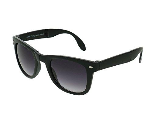 Shvas Wayfarer Unisex Sunglasses(Sgfolding|50 Mm|Black)