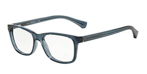 Emporio Armani Montures de lunettes 3064 Pour Femme Black, 52mm 5017: Black