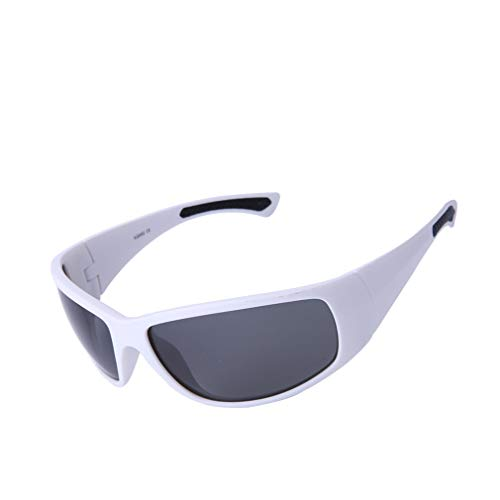 LHY RIDING Outdoor Sports Sonnenbrillen Mountain Bike Polarisierte Brille Geeignet für Laufen Angeln Fahren,White