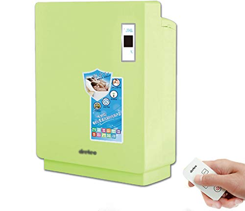 GUORHGJ Wäschetrockner: Mini Home Mute Energiespar Quick-Drying Multi-Color Optional Wireless Remote Control Trockner (Farbe : Green) Optional Wireless Remote