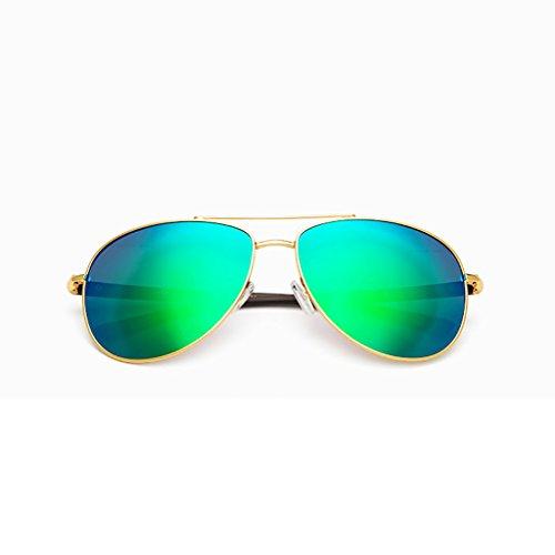 Ppy778 Sonnenbrillen Herren Sport Herren Polarisierte Sonnenbrillen Anti-Glare Driving Eyewear Metall Sonnenbrille (Color : B)