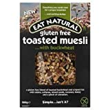 Eat Natural Gluten Free Toasted Muesli With Buckwheat 500G