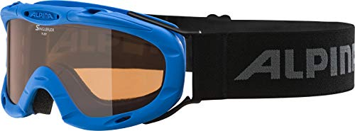 Alpina Kinder Skibrille Ruby S, Rahmenfarbe: Blue, One Size