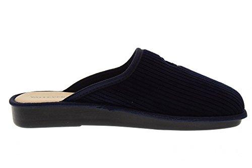 Valleverde Chaussures Homme Pantoufles 37803 Bleu Bleu