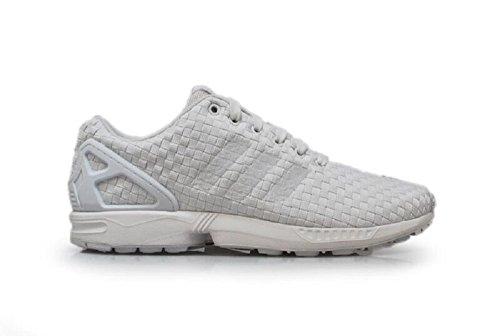 Adidas ZX Flux tissé Homme Baskets blanc / blanc / blanc