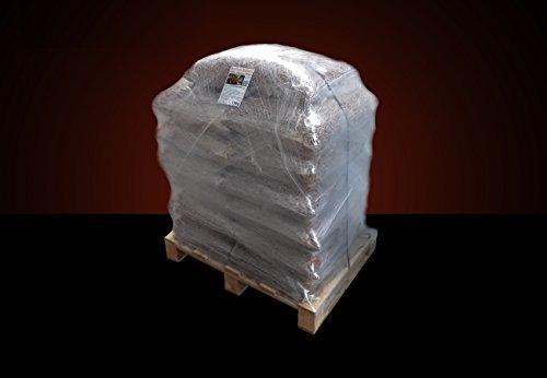 ▶ Buchenholz Holzpellets zum Grillen, Räuchern, Smoken, 150 kg oder 195 kg auf Halbpalette, kostenfreie Lieferung, handlich verpackt in 15kg Säcke, Holz-Pellets, Smoker-Pellets, Räucherpellets
