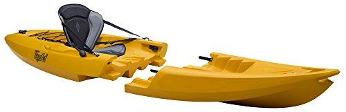 TEQUILA GTX solo Kayak Desmontable (Amarillo)
