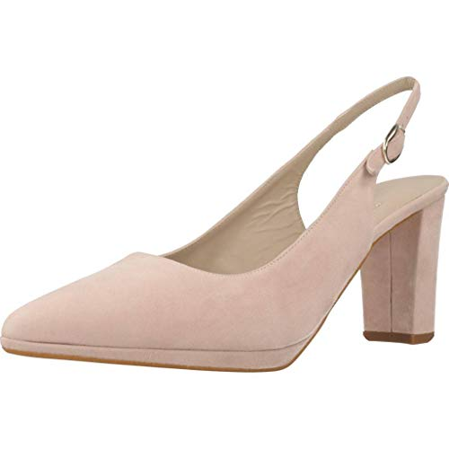 Zapatos TAC�n, Color Rosa LHROSE, Marca ARGENTA