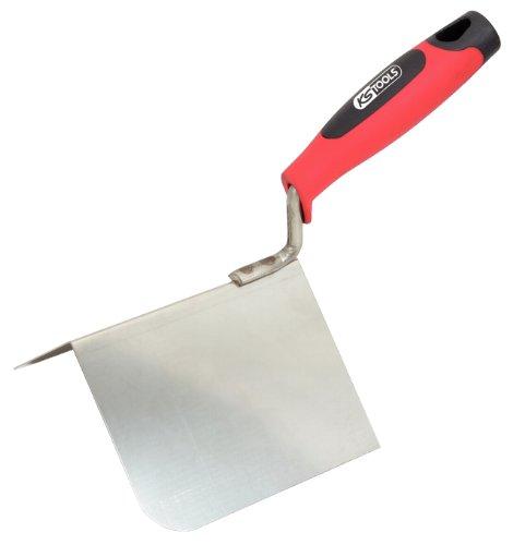 KS Tools 144.0242 Edelstahl Außen-Eckenkelle, 125mm