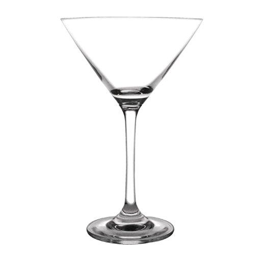 Crystal-martini-cocktail (Olympia gf731Martini Glas, Bar Collection, 275ml (6Stück))