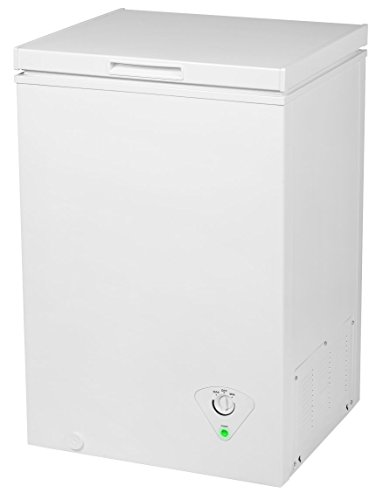 MEDION MD 37276 Gefriertruhe/99 Liter Nutzinhalt/integrierter Metallkorb/platzsparend/EEK: A+/weiß
