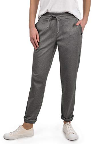 DESIRES Heaven Damen Jerseypants Sweatpants Jogginghose Mit Taschen, Größe:L, Farbe:Grey Melange (8236) - Fleece-jersey-trainingshose