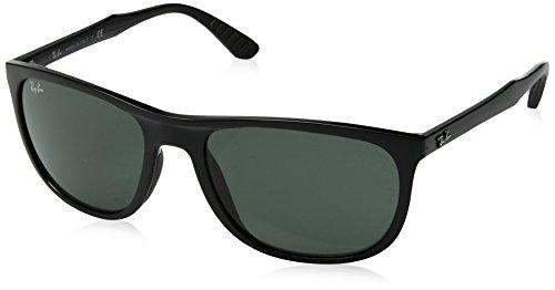 Rayban 0rb4291 601/71 58, occhiali da sole uomo, nero (black/green)