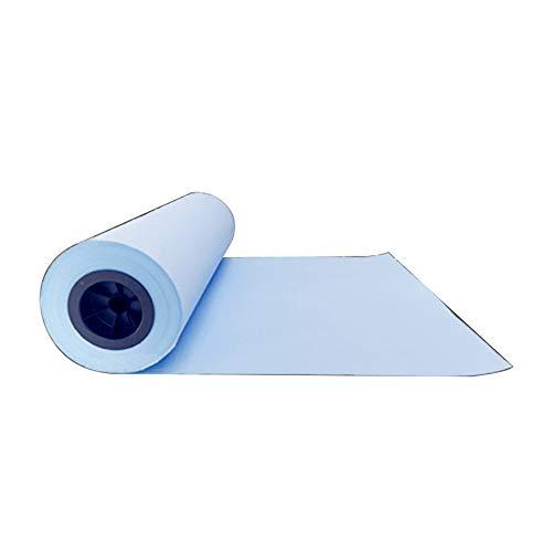 ZHILIAN® Zeichnungs-Papier-Technik-Kopierpapier-blaue Zeichnungs-Kopien-Druckpapier-Rolle 80g Weißbuch-Papier 3 Zoll 440mm (4 Rollen) 620mm880mm (2 Rollen) Breite 150m (größe : 440)