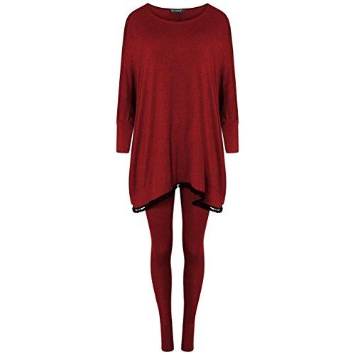 Gugu Fashion - Survêtement - Femme Bordeaux