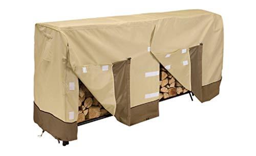 Copertura della struttura della legna da ardere, copertura impermeabile impermeabile della mobilia della legna da ardere della protezione solare all'aperto copertura impermeabile della polvere del gia