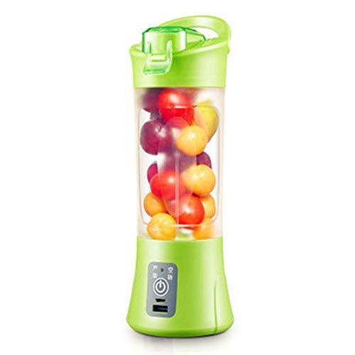 Elektro-Portable Juice Cup Household Mini Student USB wiederaufladbare Juicer Citrus Lemon Orange Juice Milchshake Baby Food Machine Perfect Blender für Reisen Personal,Green (Green Citrus Juicer)