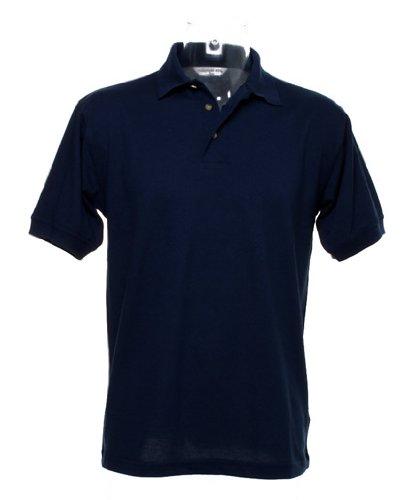 Workwear-Maglia stile polo con superwash® 60 °C blu navy