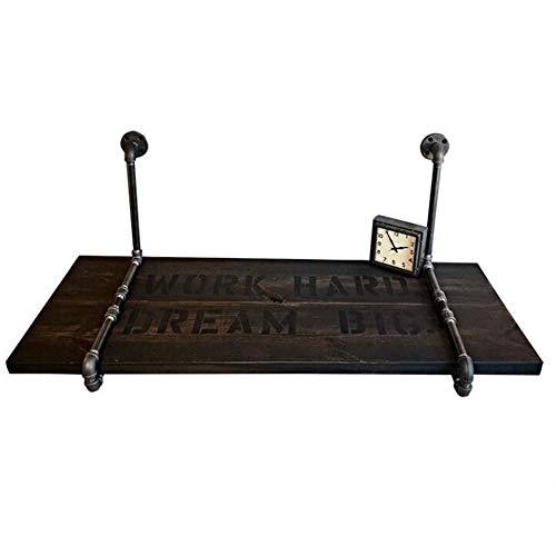 Und Laptop-schreibtisch Stuhl-set (Laptopständer DD American Industrial Style Wandtisch An der Wand Befestigte Tabelle Küche Esstisch Computer Schreibtisch Kreative Worktable Wandbehang -Werkbank (größe : 120 * 50 * 3cm))