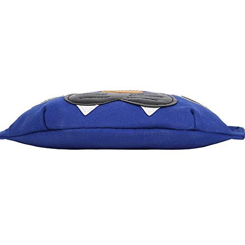 Ledertasche, Schultertasche, Geschenk, Handgefertigte Tasche,Mode Nylon Regenbogen Gürtel Tiger Cartoon Casual Bag Wild Student Tasche ()