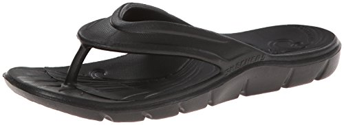 Skechers Bleaching It, Women Flip Flop, Black (Bbk), 6 UK (39 EU)