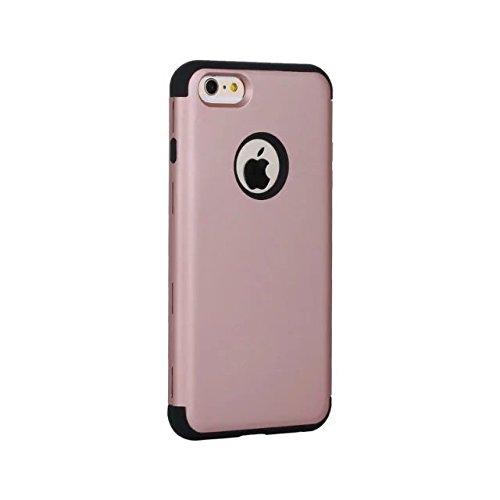 "iPhone 6 Plus Case,iPhone 6S Plus Case,Lantier 3 Stück Slim Frosted Matt Finish Design Shockproof Hybride Dual Layer Hard Case Cover für Apple iPhone 6 Plus/6S Plus 5,5"" Mint Grün+Grau Rose Gold+Black"