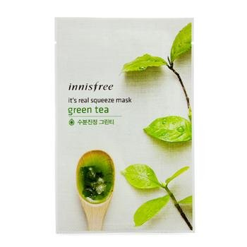 Innisfree Its Real Squeeze Mask - Green Tea 10pcs