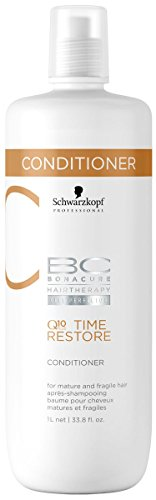 Schwarzkopf Bonacure Q10+ Time Restore Conditioner, 1000 ml, 1er Pack, (1x 1 L)