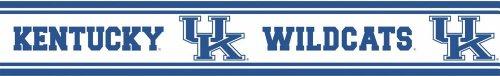 Peel-stick-border (Trademarx RBP KENT Kentucky Wildcats Licensed Peel-N-Stick-Border)