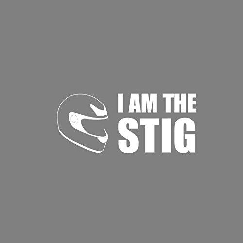 I am the Stig - Herren T-Shirt Orange