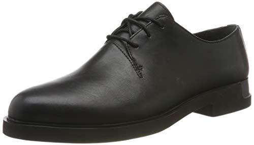 Camper Iman, Zapatos Cordones Oxford Mujer, Negro